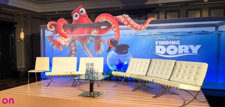 finding dory press day