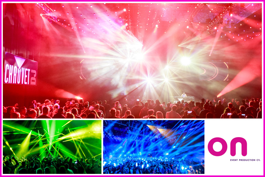 Technical Production Management Services @ BPM | Pro 2017 Chauvet DJ Main Arena Lighting - On Event Production Co.