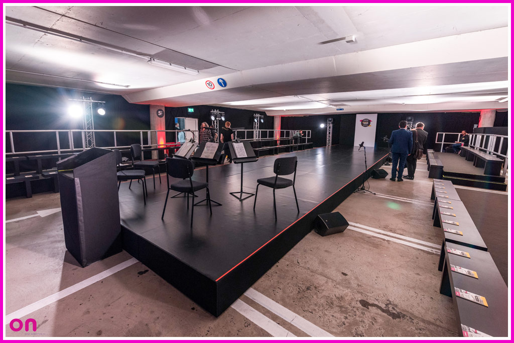 Bespoke Set Fabrication & Technical Production for Selfridges Pop-Up Theatre in the Bull Ring Car Park - On Event Production Co.