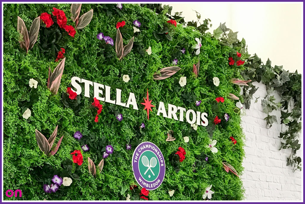 Creative Experiences - Inspiring Event Production - On Event Production Co. - Stella Artois Hospitality @ Wimbledon 2017