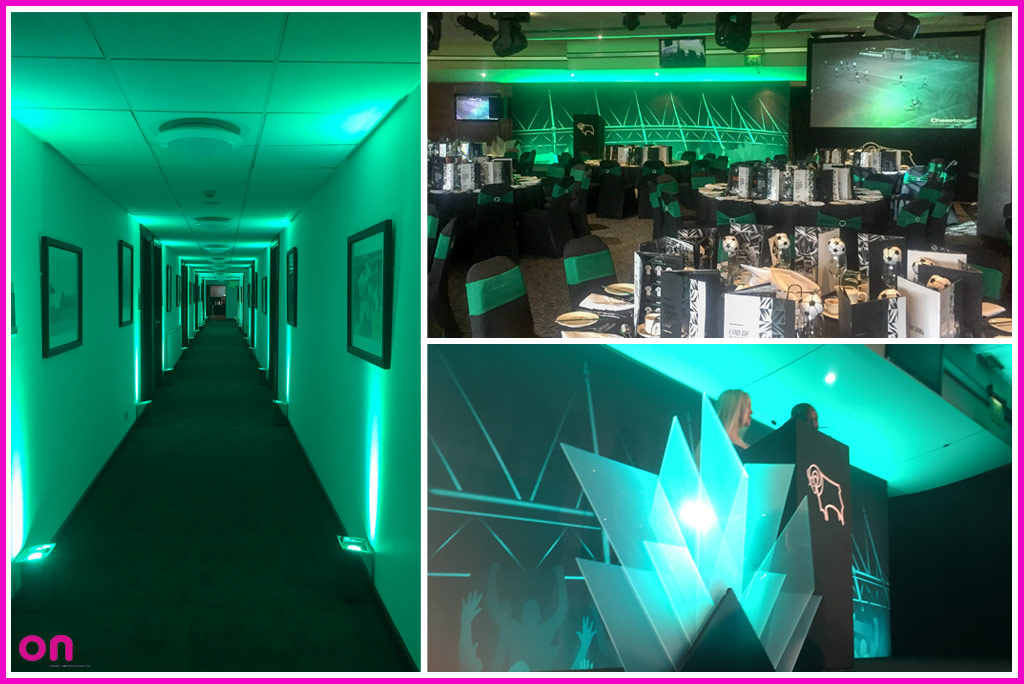 Creative Technical Production Specialists - On Event Production Co. - Derby County F.C Awards Ceremony