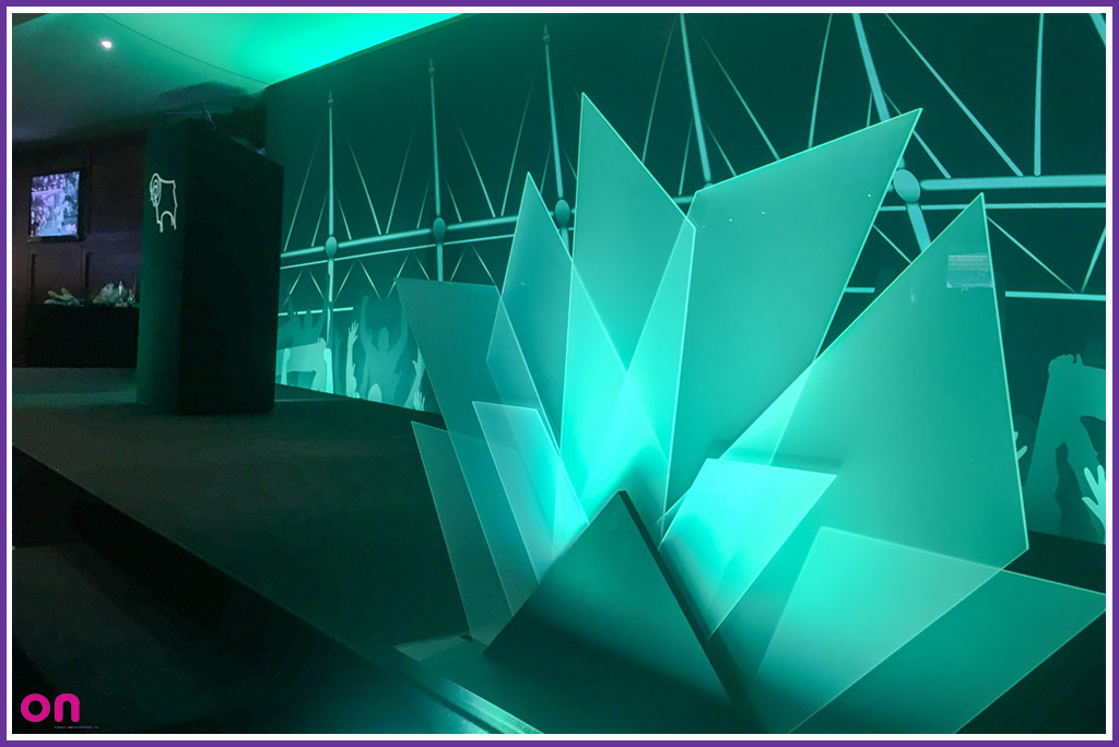 Custom stage & set design and manufacture - Awards Ceremony - On Event Production Co.