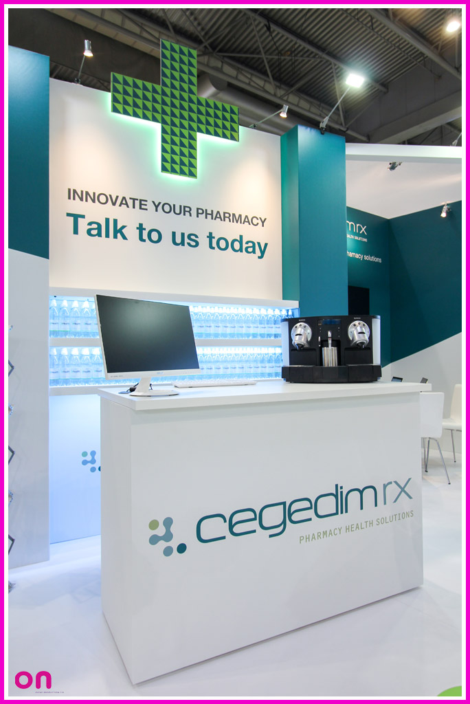 Exhibition Stand for Cegedim Rx at the Pharmacy Show 2017 - On Event Production Co.