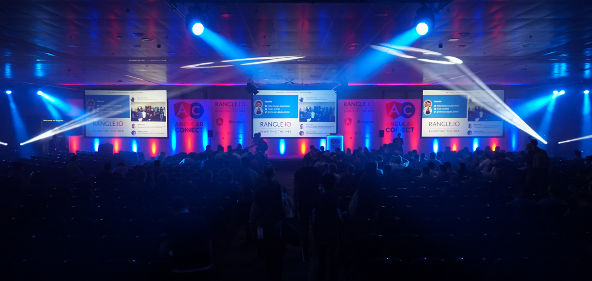 AngularConnect 2016 European Conference - Live Event Production - On Event Production Co.