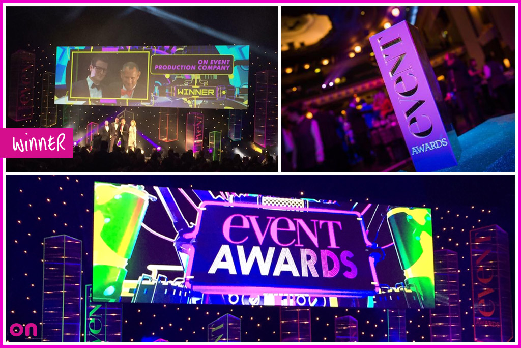 On Event Production Co. - Event Awards Winner 2016 - Production Award