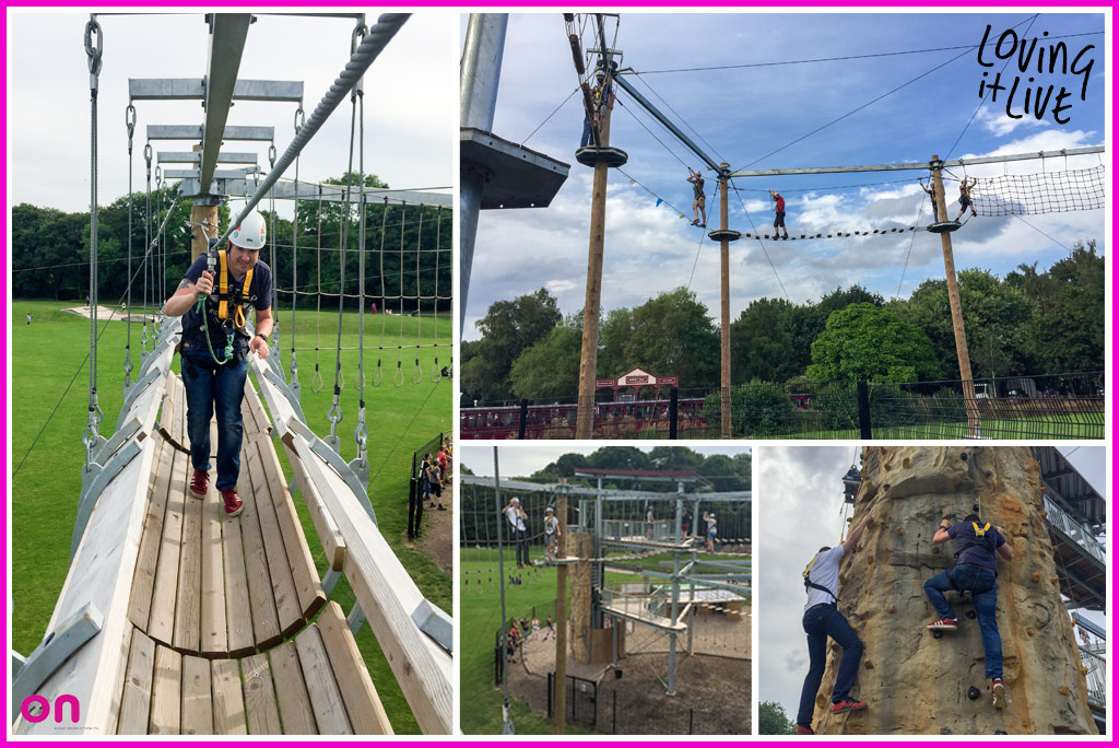 High performance team building - Staff away day - On Event Production Co.