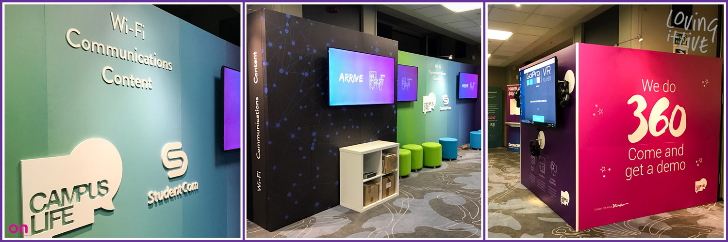 Interactive Exhibition Stand for CableCom @ ASRA Expo - On Event Production Co. - Exhibition Stand Design and build