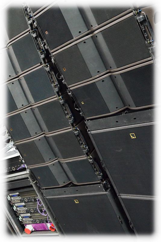 L-Acoustics KARA line array PA system hire - Rental Rates