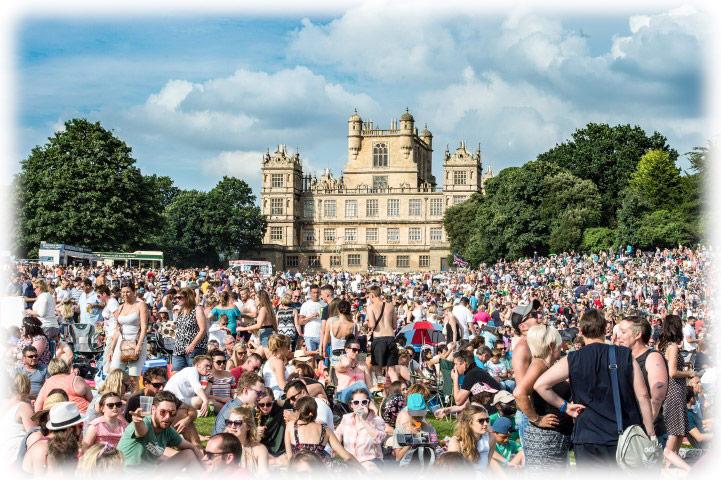 Nottingham Splendour Festival 2016 - Lighting Rig - On Event Production Co.