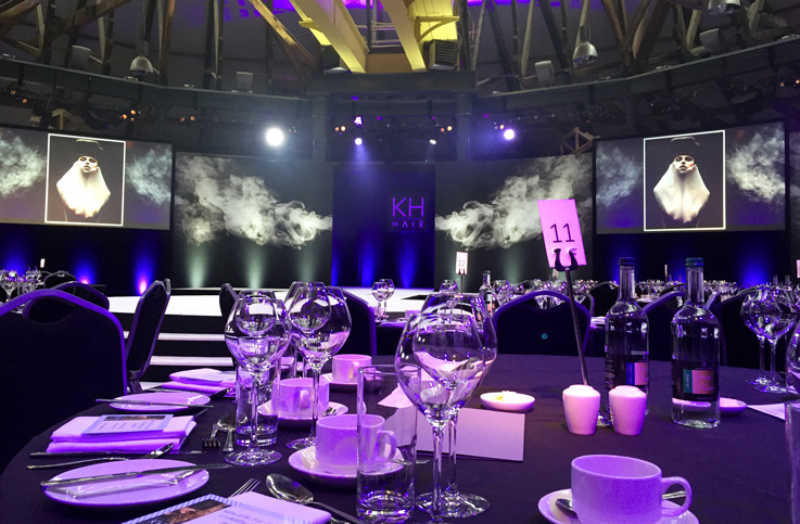 Creative Technical Production - KH Hair Awards Dinner 2016 - On Event Production Co.