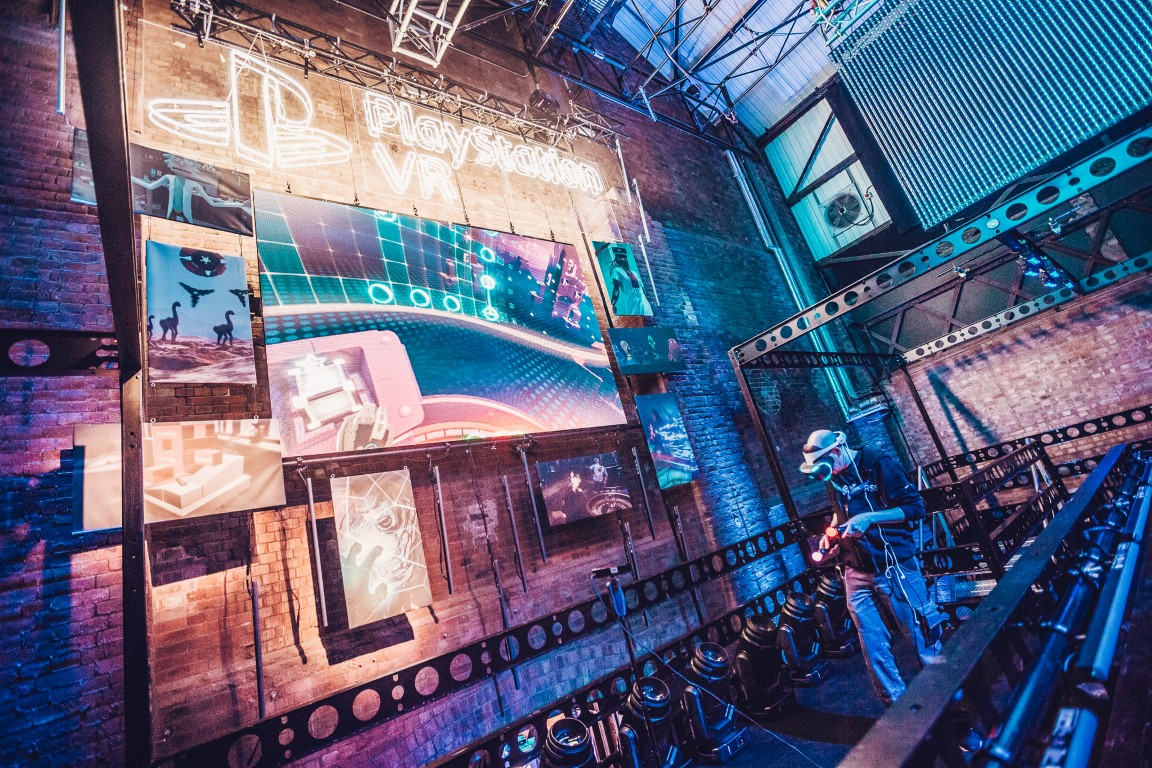 On Event Production Supports Sony Playstation Experiential VR Launch Event