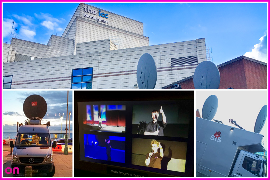 Roadshow Events - Technical Production with two-way Satellite link ups - On Event Production Co.