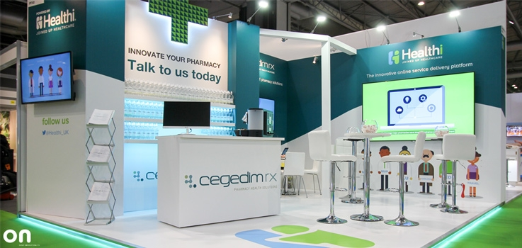 Expo Exhibition Stands Uk : Stunning exhibition stand for pharmacy show on event
