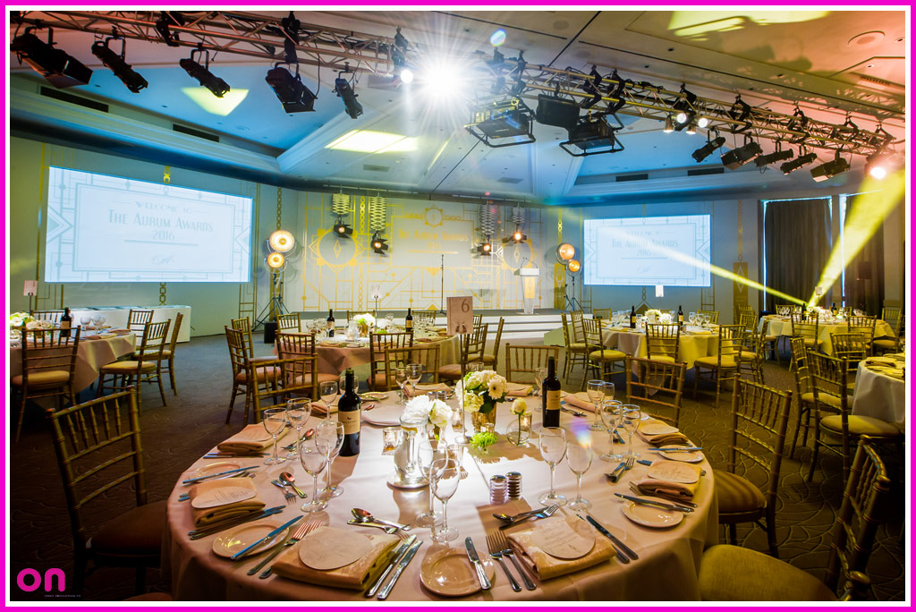 Technical Production Specialists - On Event Production Co. - Vintage Awards Ceremony