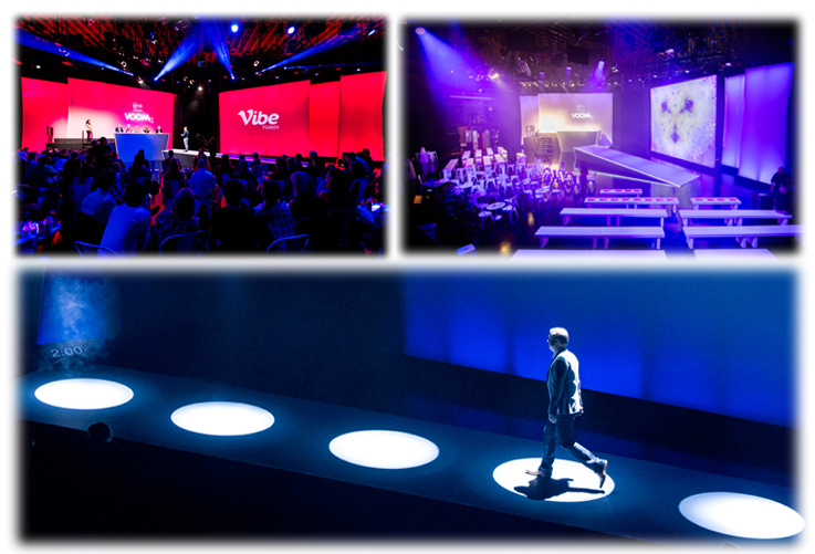 Virgin Media Business VOOM 2016 Finals - Live Event Production - On Event Production Co.